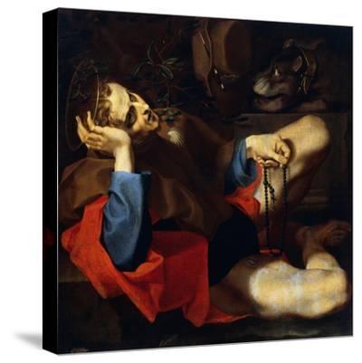 San Rocco, 1596-Andrea Lilli-Stretched Canvas Print