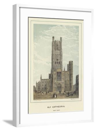 Ely Cathedral, West Front--Framed Giclee Print