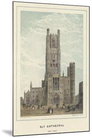 Ely Cathedral, West Front--Mounted Giclee Print