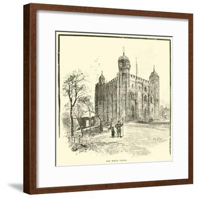 The White Tower--Framed Giclee Print