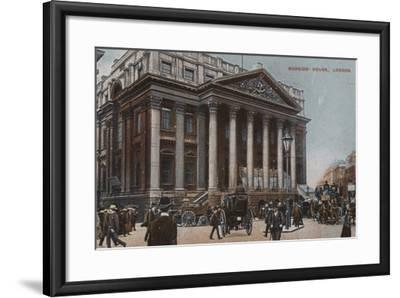 Mansion-House, London--Framed Photographic Print