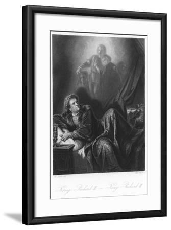 Scene from King Richard III--Framed Giclee Print