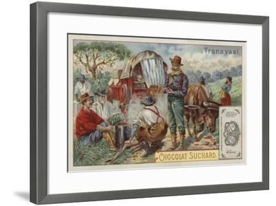 Camp, Transvaal--Framed Giclee Print