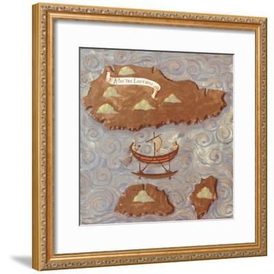 Island of Thieves-Antonio Pigafetta-Framed Giclee Print