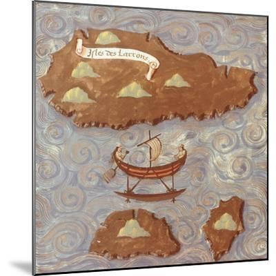 Island of Thieves-Antonio Pigafetta-Mounted Giclee Print
