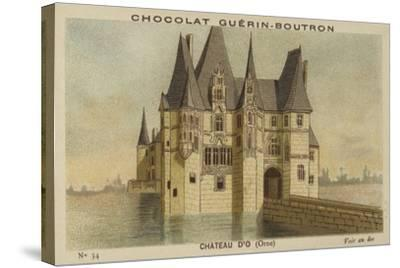 Chateau D'O, Orne--Stretched Canvas Print