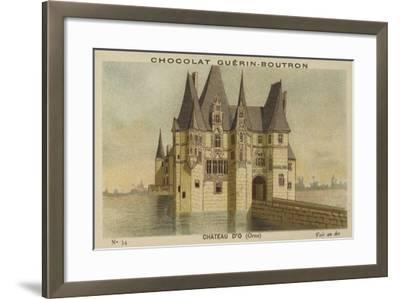 Chateau D'O, Orne--Framed Giclee Print