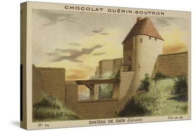 Chateau De Caen, Calvados--Stretched Canvas Print