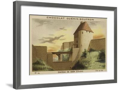 Chateau De Caen, Calvados--Framed Giclee Print