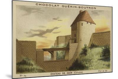Chateau De Caen, Calvados--Mounted Giclee Print