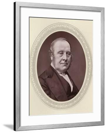 John Freeman-Mitford, 1st Earl of Redesdale--Framed Photographic Print