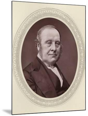 John Freeman-Mitford, 1st Earl of Redesdale--Mounted Photographic Print