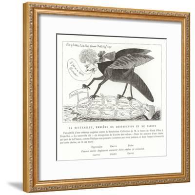 The Locust, Emblem of Destruction and Famine--Framed Giclee Print