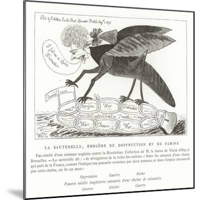 The Locust, Emblem of Destruction and Famine--Mounted Giclee Print