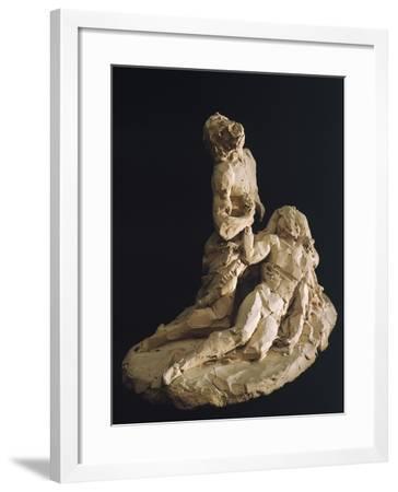 Lamentation of Christ-Antonio Canova-Framed Giclee Print