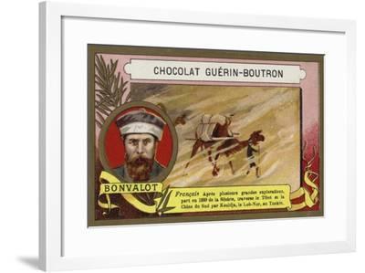 Gabriel Bonvalot, French Explorer--Framed Giclee Print