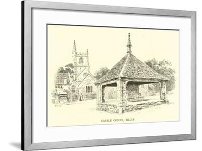 Castle Combe, Wilts-Alfred Robert Quinton-Framed Giclee Print
