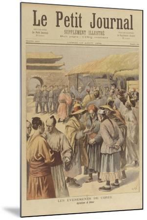 Sino-Japanese War--Mounted Giclee Print
