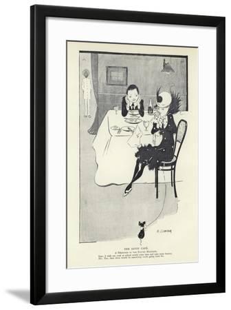 The Savoy Cafe--Framed Giclee Print