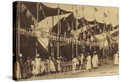 Egypt - Arab Celebration--Stretched Canvas Print