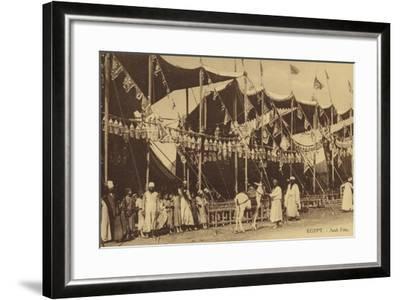 Egypt - Arab Celebration--Framed Photographic Print
