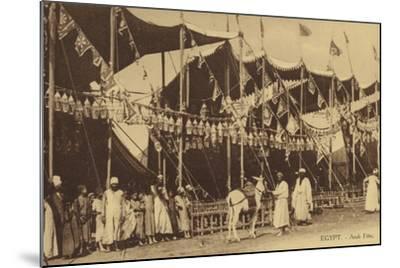 Egypt - Arab Celebration--Mounted Photographic Print