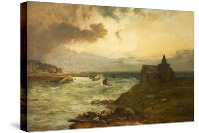 The Fisherman's Haven, St Monans, Fifeshire, 1872-John MacWhirter-Stretched Canvas Print