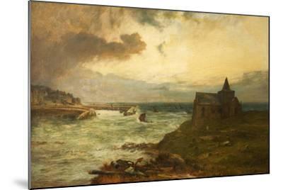 The Fisherman's Haven, St Monans, Fifeshire, 1872-John MacWhirter-Mounted Giclee Print