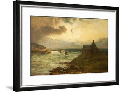 The Fisherman's Haven, St Monans, Fifeshire, 1872-John MacWhirter-Framed Giclee Print