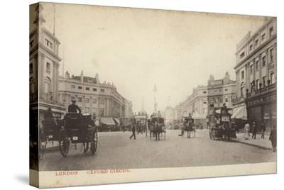 Oxford Circus, London--Stretched Canvas Print