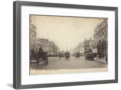 Oxford Circus, London--Framed Photographic Print