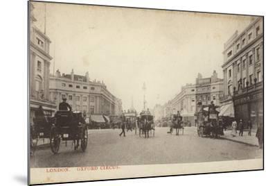 Oxford Circus, London--Mounted Photographic Print