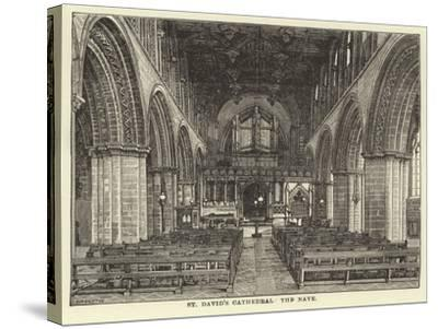 St David's Cathedral, the Nave--Stretched Canvas Print