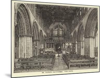 St David's Cathedral, the Nave--Mounted Giclee Print