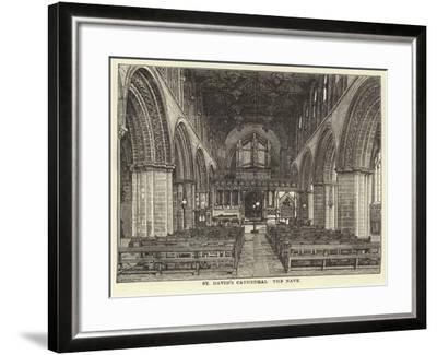 St David's Cathedral, the Nave--Framed Giclee Print