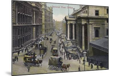General Post Office, London--Mounted Photographic Print