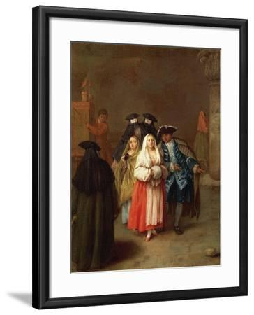 The New World-Pietro Longhi-Framed Giclee Print