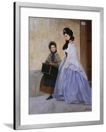 The Milliner-Odoardo Borrani-Framed Giclee Print