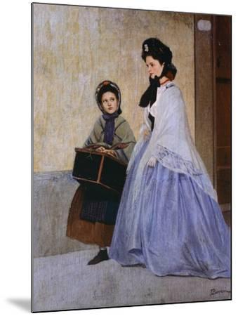 The Milliner-Odoardo Borrani-Mounted Giclee Print