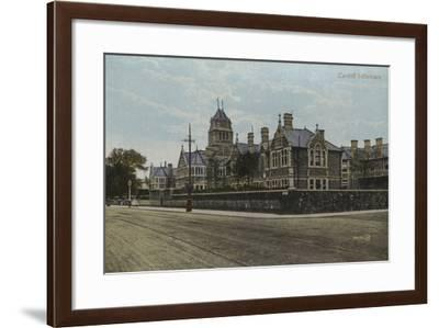 Cardiff Infirmary--Framed Photographic Print