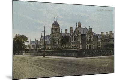 Cardiff Infirmary--Mounted Photographic Print