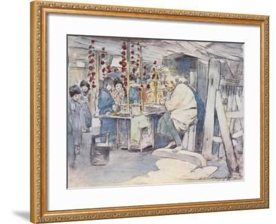 Buying Sweets-Mortimer Ludington Menpes-Framed Giclee Print