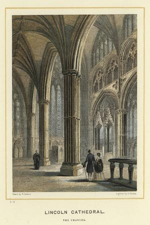 Lincoln Cathedral, the Chancel--Stretched Canvas Print