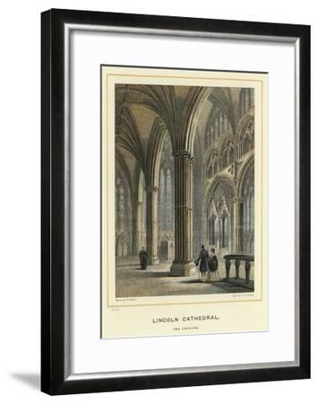 Lincoln Cathedral, the Chancel--Framed Giclee Print