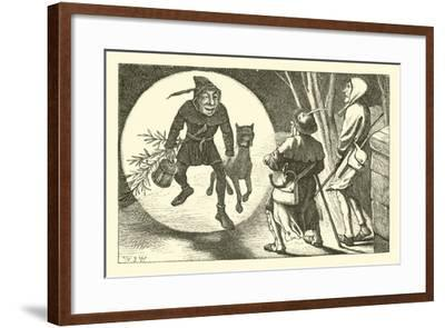 The Man in the Moon--Framed Giclee Print