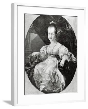 Isabella II of Spain--Framed Giclee Print