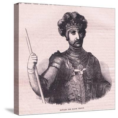 Edward the Black Prince--Stretched Canvas Print