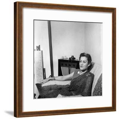 The White Maharani of Jodhpur, August 1949--Framed Photographic Print