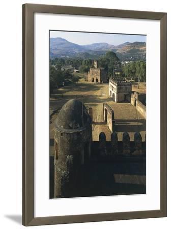 Fasilides Castle--Framed Photographic Print