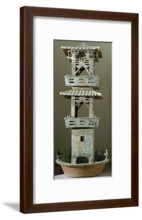 Watchtower Model--Framed Giclee Print